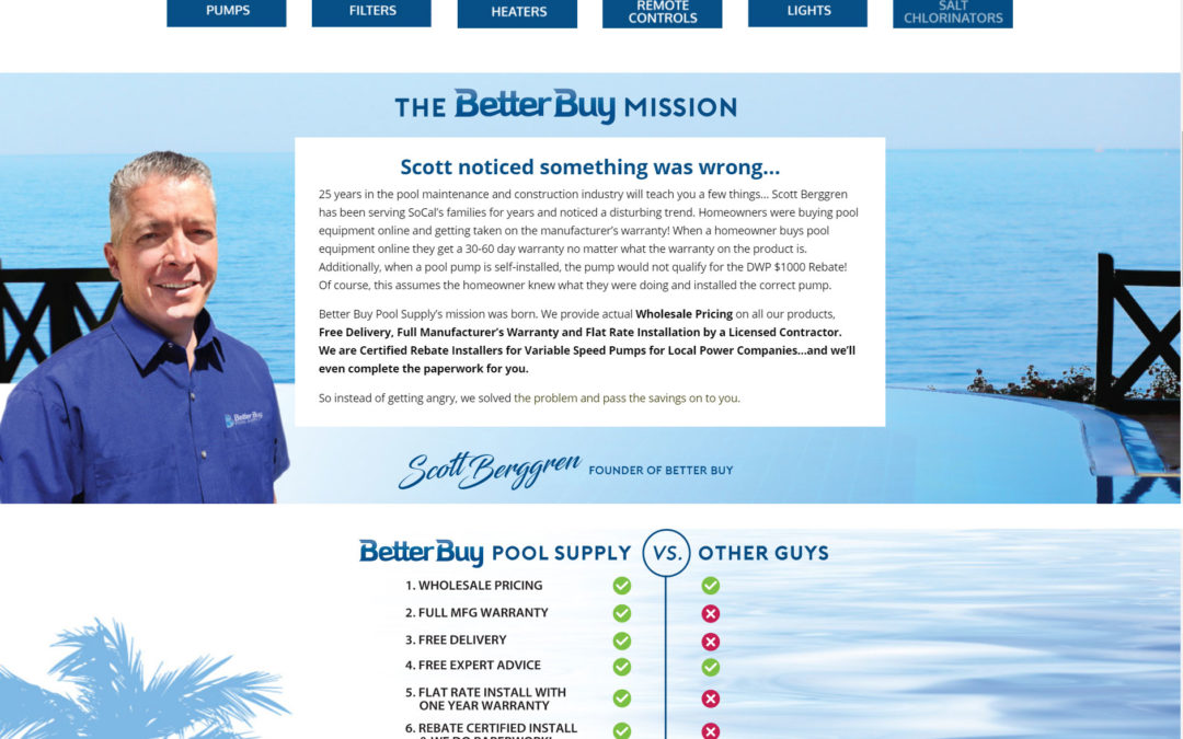 Client Showcase: Better Buy Pool Supply